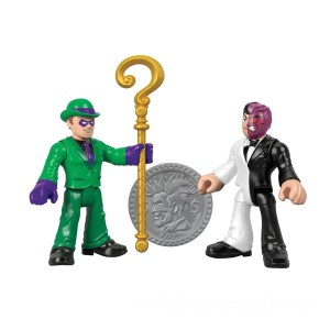 Imaginext DC Superfriends Riddler and Two Face - Sale