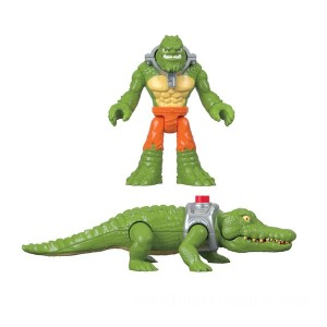 Imaginext DC Superfriends K Croc and Crocodile - Sale