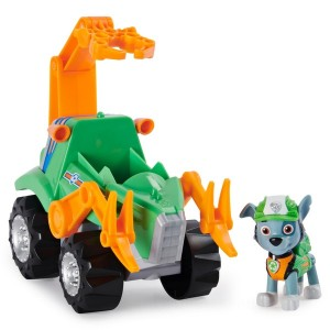PAW Patrol Dino Rescue Rocky's Deluxe Vehicle with Mystery Dino Figure - Sale