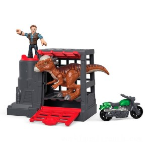 Imaginext Jurassic World Stygimoloch & Owen - Sale