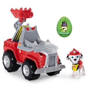 PAW Patrol Dino Rescue Marshall's Deluxe Rev Up Vehicle with Mystery Dinosaur Figure - Sale