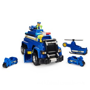 PAW Patrol Chase's 5-in-1 Ultimate Police Cruiser - Sale