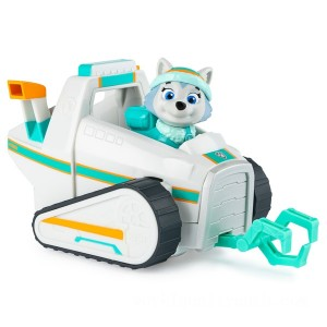 PAW Patrol Everest Snow Plow Vehicle - Sale
