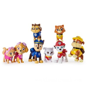 PAW Patrol Kitty Catastrophe Gift Set with 8 Collectible Figures - Sale
