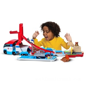 PAW Patrol True Metal Launch 'n Hall PAW Patroller - Sale