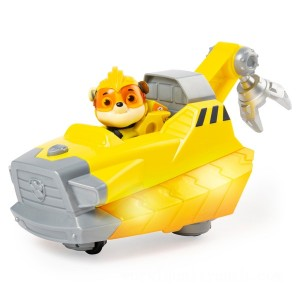 PAW Patrol Charged Up Vehicle - Rubble - Sale