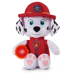 PAW Patrol Snuggle Up Marshall Plush with Torch and Sounds - Sale
