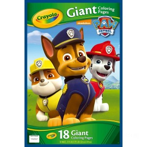 Crayola Giant Colouring Pages PAW Patrol - Sale