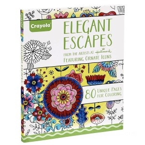 Crayola Elegant Escapes Colouring Book - Sale