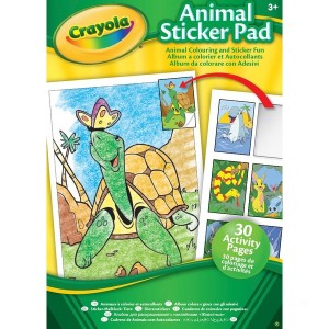 Crayola Animal & Activity Sticker Pads - Assortment - Sale