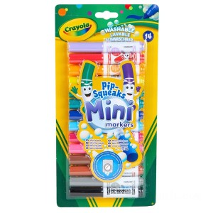 Crayola 14 Pipsqueaks Markers - Sale