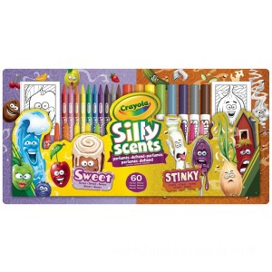 Crayola Silly Scents Sweet & Stinky Kit - Sale