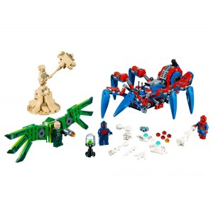 Lego Marvel Spider-Man's Spider Crawler - Sale