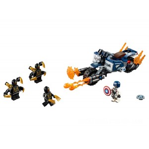 Lego Marvel Captain America: Outriders Attack - Sale
