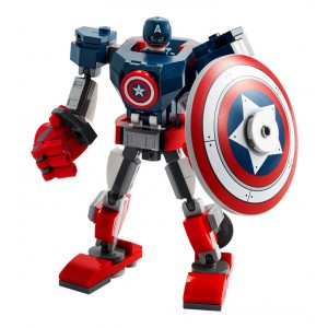 Lego Marvel Captain America Mech Armor - Sale