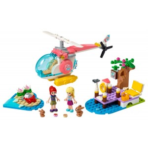 Lego Friends Vet Clinic Rescue Helicopter - Sale