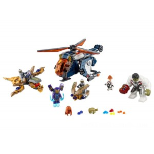 Lego Marvel Avengers Hulk Helicopter Rescue - Sale