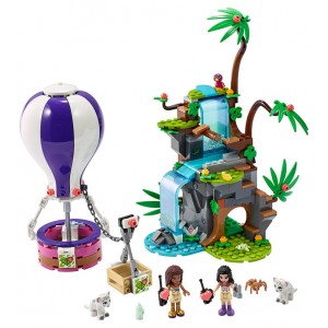 Lego Friends Tiger Hot Air Balloon Jungle Rescue - Sale