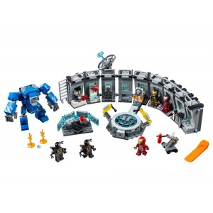 Lego Marvel Iron Man Hall of Armor - Sale