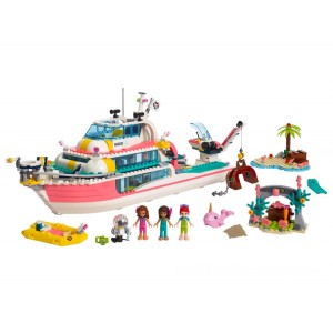 Lego Friends Rescue Mission Boat - Sale