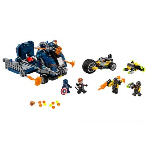 Lego Marvel Avengers Truck Take-down - Sale