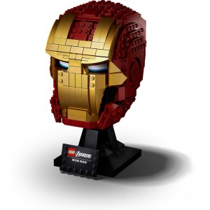 Lego Marvel Iron Man Helmet - Sale
