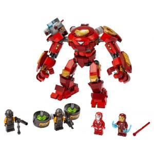 Lego Marvel Iron Man Hulkbuster versus A.I.M. Agent - Sale