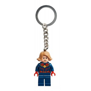 Lego Marvel Captain Marvel Key Chain - Sale