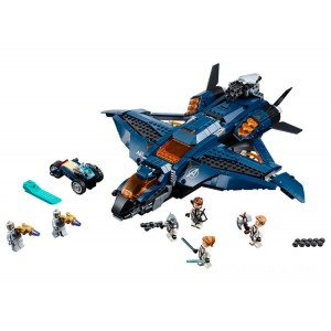 Lego Marvel Avengers Ultimate Quinjet - Sale